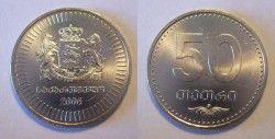 2062# GEORGIA 50 THETRI 2006 UNC!!! 24mm C/ certificado!