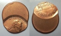 2856# ERRO IMPRESSIONANTE! EUA  One Cent FC! VEJA!!