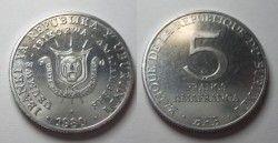2897# BURUNDI 5 FR 1980 FC Ø25