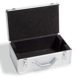 Maleta de Aluminio LEUCHTTURM para 12 bandejas com fechadura