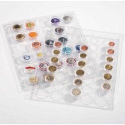 Folha sistema GRANDE para séries de Euros Pacote com 2 unidades