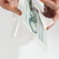 Envelopes para cédulas/Bilhetes/Filatelia/Cartofilia Leuchtturm  PREMIUM 210x127mm.