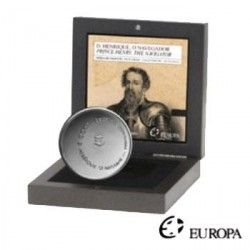 5376 # PORTUGAL 8 Euros 2006 PRATA PROOF Ø30mm D. Henrique O Navegador