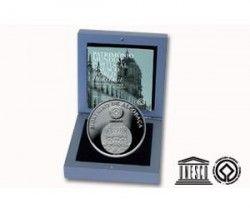 5377 # PORTUGAL 5 Euros 2006 PRATA PROOF Ø30mm Mosteiro de Alcobaça  C/ Estojo e Certificado!