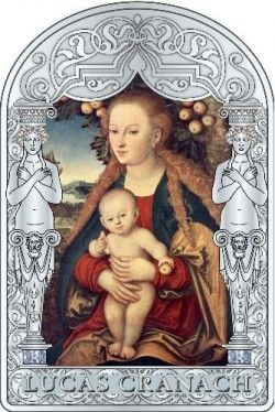 5678 # ANDORRA 15 Diners 2011 Prata Proof Arte Renascentista III: Lucas Cranach