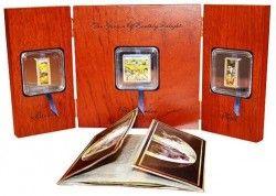 5779# ILHAS COOK $9 (3 moedas) 2011 Prata Proof pintor Hieronymus BOSCH :: Tiragem apenas 500 pcs!!