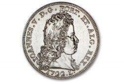 6111 # PORTUGAL 5 Euros 2012 Cu/Ni Tesouros Numismáticos Portugueses -  Peça de D. João V