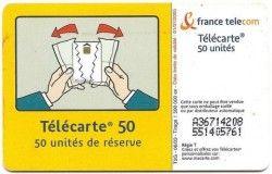 CT0003 Cartão com Chip - Télecarte - França 06/2003