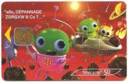CT0009 Cartão com Chip - Carte 5/6 - França 05/2003