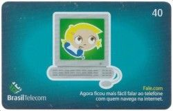 CT0016 Cartão Brasil Telecom - Fale.com - 01/2004