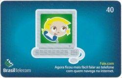 CT0017 Cartão Brasil Telecom - Fale.com - 04/2004
