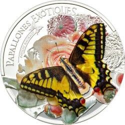 6161 Andorra 5 Diners 2013 Prata Proof - com borboleta 3D! Veja!
