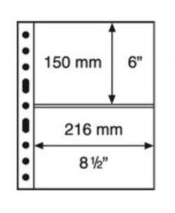 GRANDE 2S - Folhas sistema GRANDE (Fundo preto) Formato 240x312mm. Pacote de 5 unidades