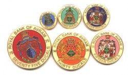 2336# AVRAM 2005 SET 6 moedas coloridas! Veja!