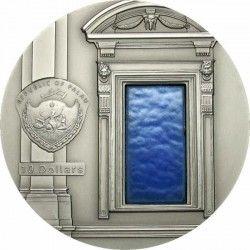 2393 ¤RARISSIMA¤ PALAU 10 Dollar 2007 PRATA 50mm 3º Moeda da Série TIFFANY ART Apenas 999 no Mundo!!!