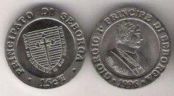 2487# Seborga 15 Centesimi 1996
