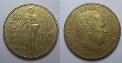 3031 # MONACO 10 Centimes 1979 KM#120a FC!