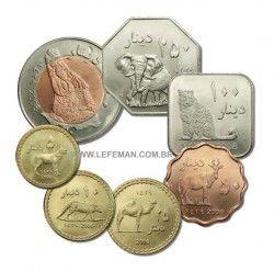 3175# DARFUR 2008 Set completo c/ 7 moedas UNC