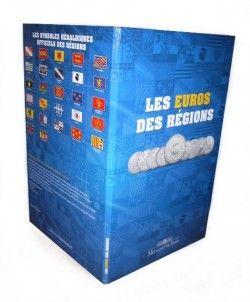 4110 ¤RARO¤ SET COMPLETO França 26 x 10 Euros 2010 Regiões da frança