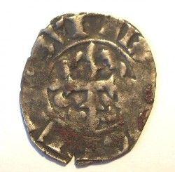 4117 # MEDIEVAL FRANÇA Felipe VI Ano 1328-1350 Double Parisis de PRATA