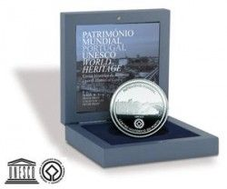5393 # PORTUGAL 2,5 Euros 2008 PRATA PROOF Ø28mm Centro Histórico do Porto