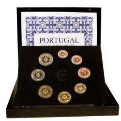 5399 # PORTUGAL Euro Set de Luxo 2009 PROOF Série: Séries Anuais