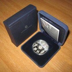5986 # LITUANIA 50 Litas 2008 Prata Proof Ø39mm UNESCO