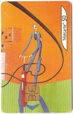 CT0004 Cartão com Chip - Les Marteaux piqueurs 2/8 - França 09/2003