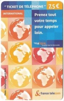 CT0007 Cartão da França