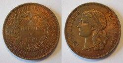 0514# Medalha Francesa de 1879 Centenario da Revolução!! Linda!