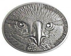 6172 Fiji 10$ 2013 Prata Antique-finish ÁGUIA AMERICANA 31,1g com olhos de Cristal