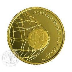 6220 *RARA*  Israel $5  2013 Ouro Proof Copa do Mundo 2014 Apenas 555 no Mundo!!