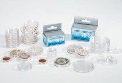CAPS23,5 #  Capsula acrilica p/ moedas até Ø23,5mm LEUCHTURM (Importada)