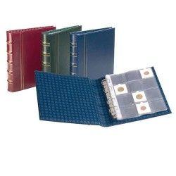Álbum para moedas em envelopes OPTIMA com 10 folhas (Capacidade para 120 envelopes) Sem estojo