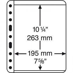 VARIO 1C - Folhas extras sistema VARIO (formato 216x280 mm.) Pacote com 5 Unidades